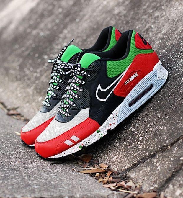 """Gel Max 90 """"Patta"""" Custom Nike schoenen, Schoenen en Nike"""