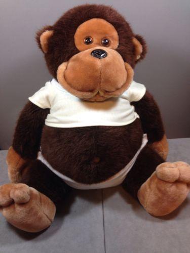 Dakin-Baby-Monkey-Plush-Diaper-and-Shirt-16-1985-Missing ...