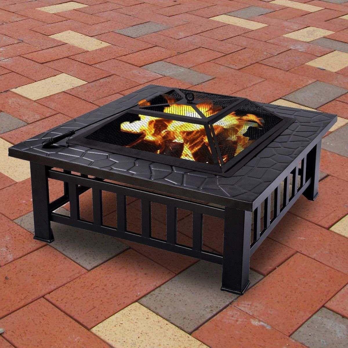 hermosa fogata exterior fire pit patio lea jardin chimenea