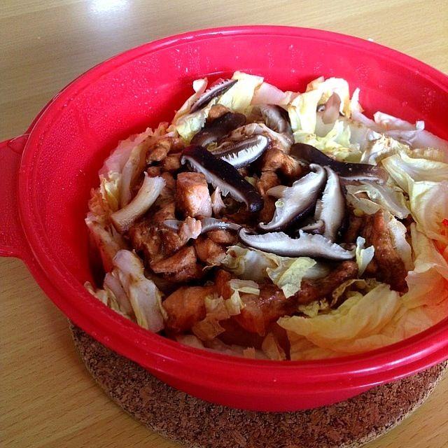 レシピに載ってたのをちょっとアレンジしました! - 4件のもぐもぐ - ノンオイル!!鮭と白菜の蒸し鍋♫ by あかね