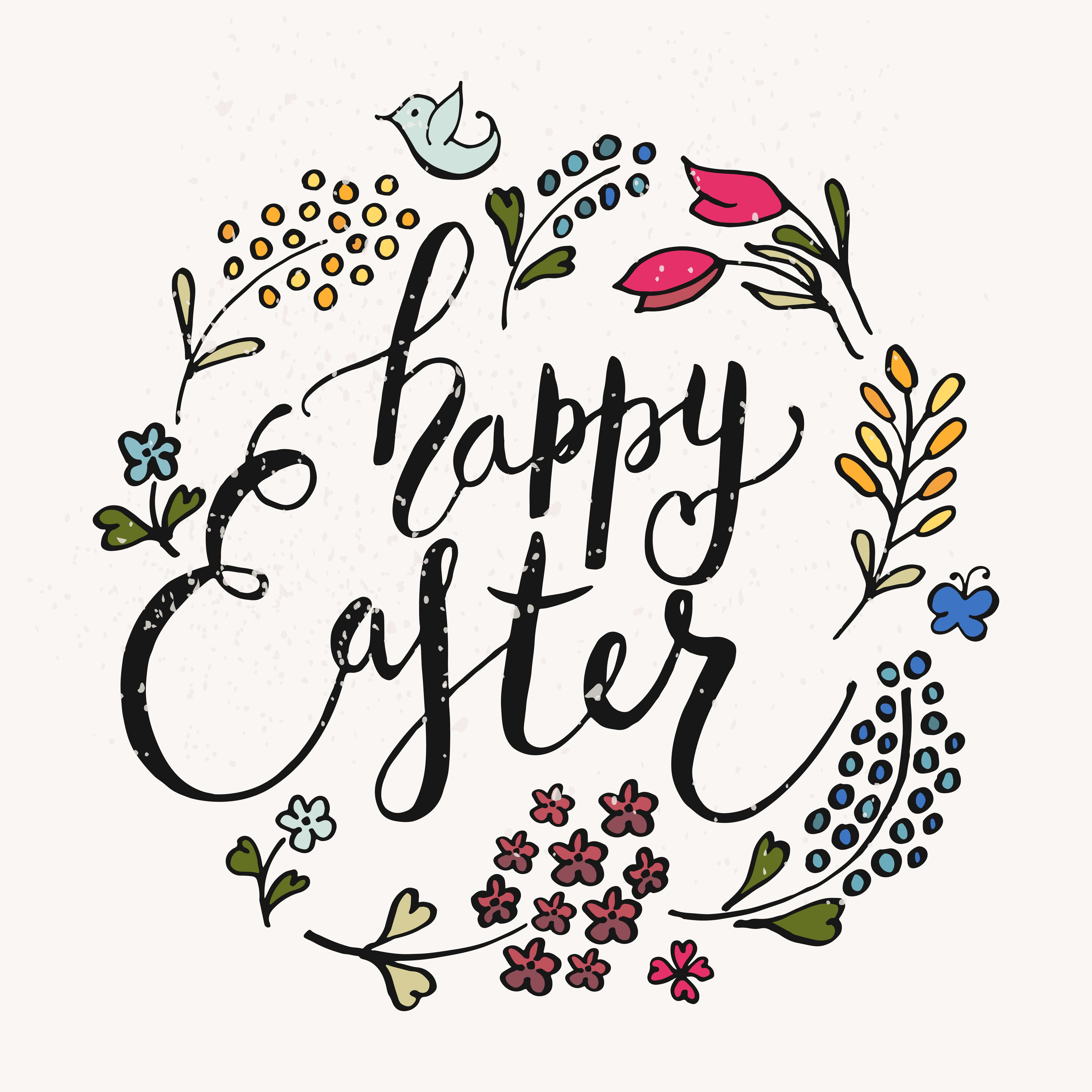 Happy Easter Calligraphy Easter Fonts Happy Easter Easter Christian