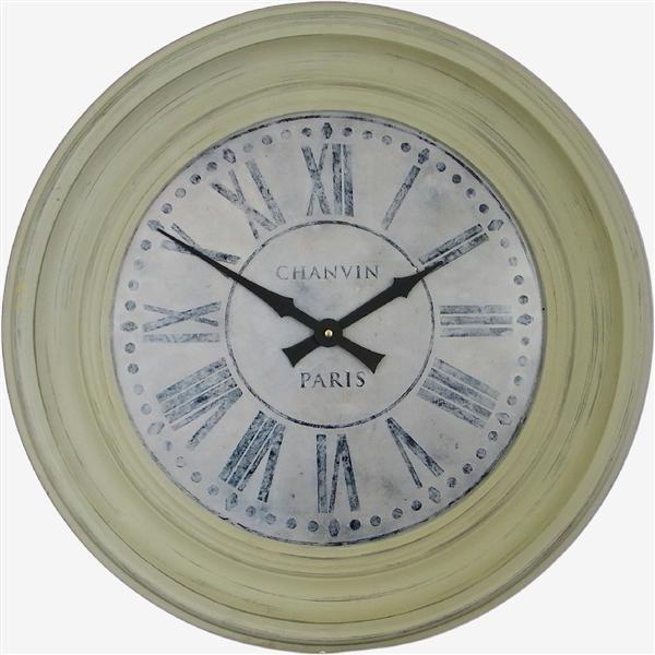 Traditionally Framed Chanvin Dial Clock 50cm Paris Wall Clock Clock Wall Clock