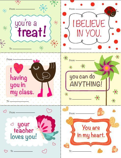 free printable valentines for students from teacher thanks scholastic - Valentines For Students
