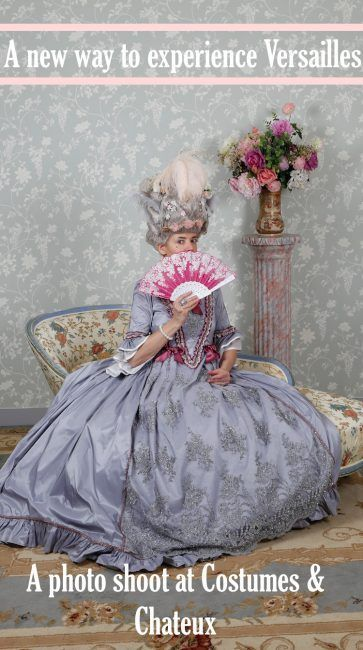 Get into the spirit of Marie Antoinette with a photo shoot at Costumes \u0026  Chateaux in