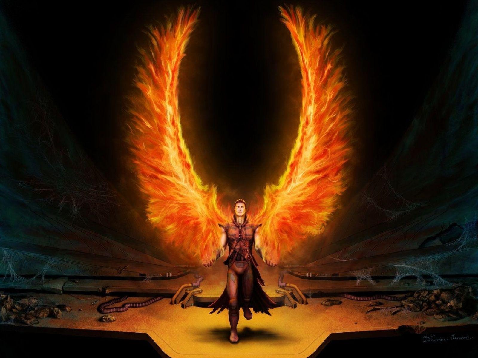 Fire angel of war   Catching Flames   Pinterest