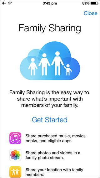How to setup Family Sharing on your iPhone or iPad
