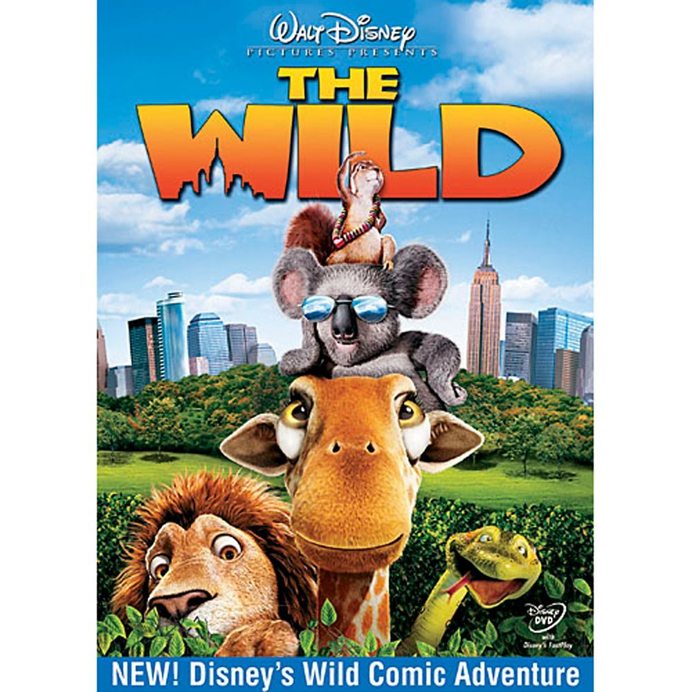 The Wild Dvd Shopdisney Wild Movie Animated Movies Wild