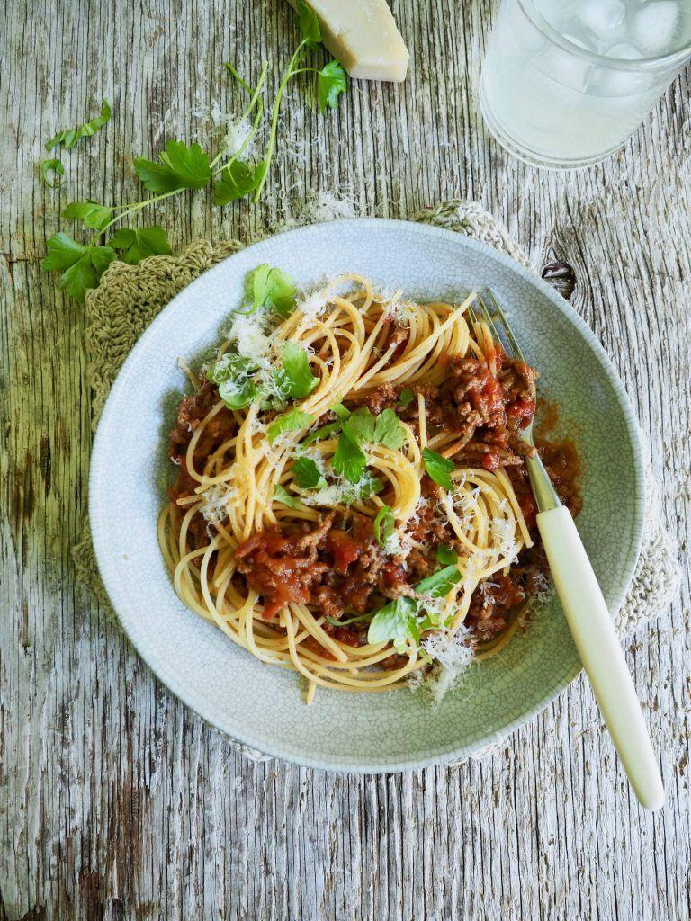 pasta kjøttdeig