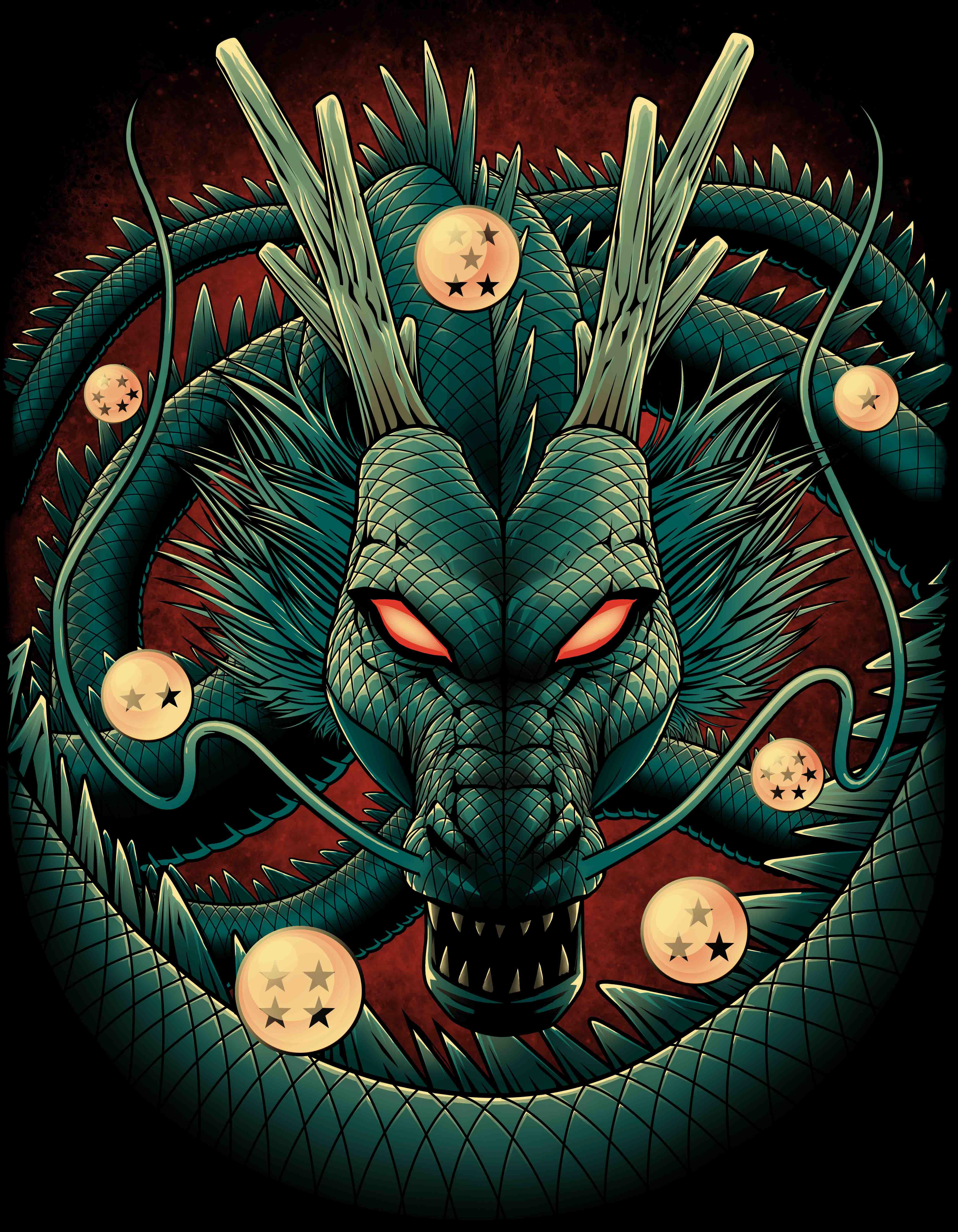 Shenron Wallpaper : shenron, wallpaper, Shenron, Dragon, Wallpapers,, Anime, Super,