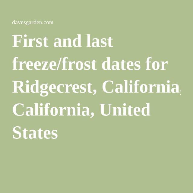 Ridgecrest California dating
