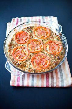 Vegan Crustless Veggie Quiche Willow Thyme Love Vegan Quiche Dishes So Much Moreso Then I Ever Enjoyed Eg Vegetarian Vegan Recipes Vegan Dishes Recipes