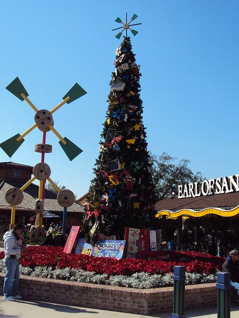 downtown disney christmas tree - Downtown Disney Christmas