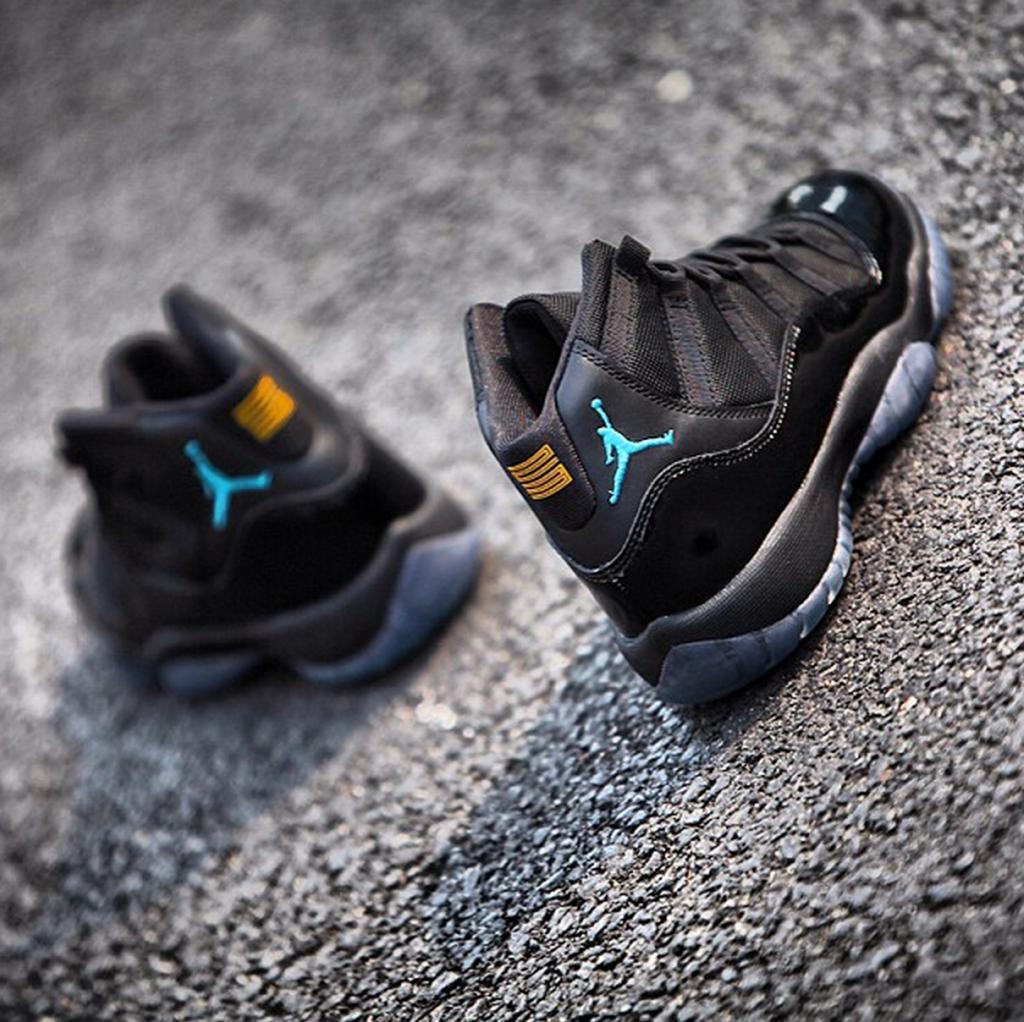 Air Jordan Black Gamma Blue