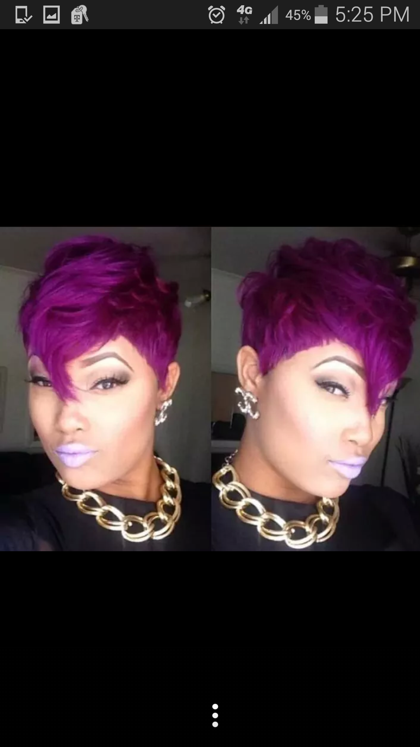 Purple pixie shared by msmonroe purple pixie weave extensions and