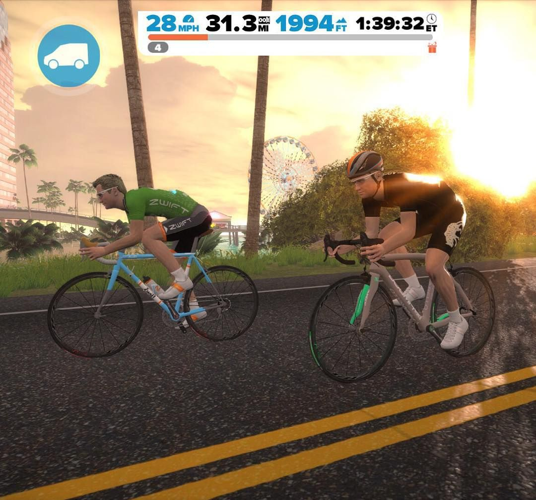 Sometimes We Re On Zwift Because Trainers Are People Too By
