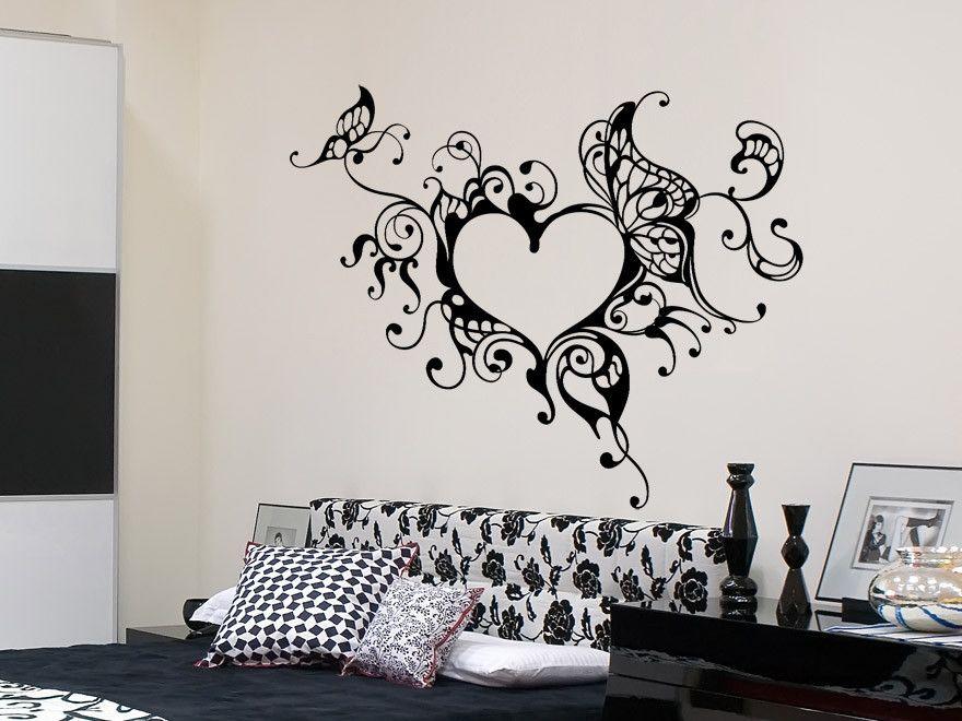 Wandtattoo Schlafzimmer Luxury Wandtattoo Verschnorkeltest