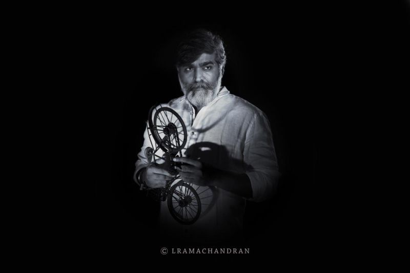 Lockdown mood of vijaysethupathi HUMAN photoshoot artistically framed by international photographer L.Ramachandran