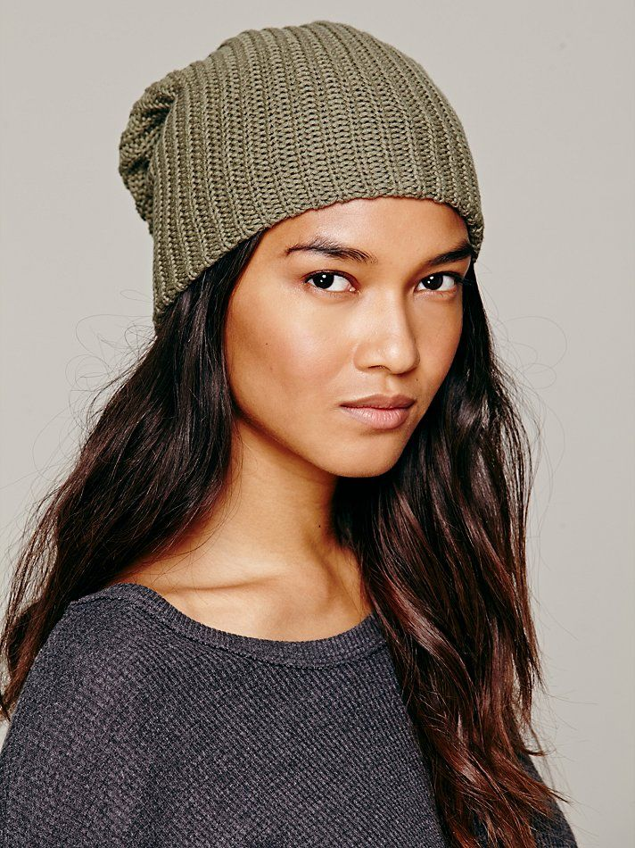 Free People Capsule Slouchy Beanie at Free People Clothing Boutique ... 0c0a57f978be