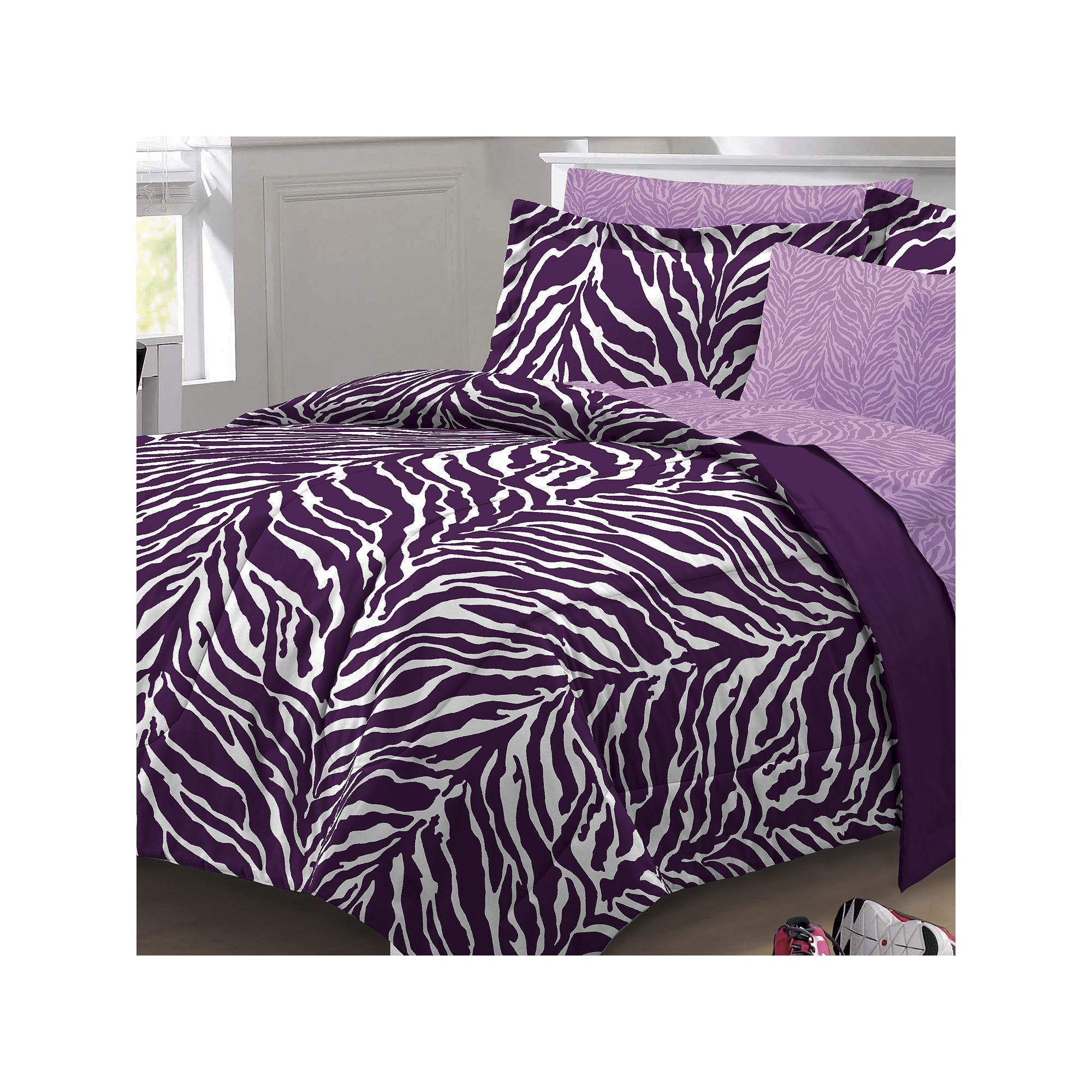 Room Zebra Bed Set Bedding Sets