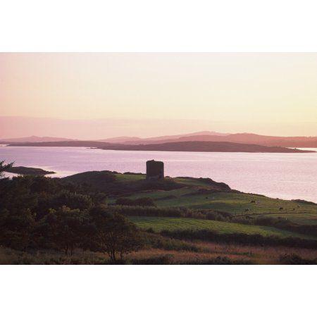 Roaringwater Bay Co Cork Ireland Landscape At Sunset ...