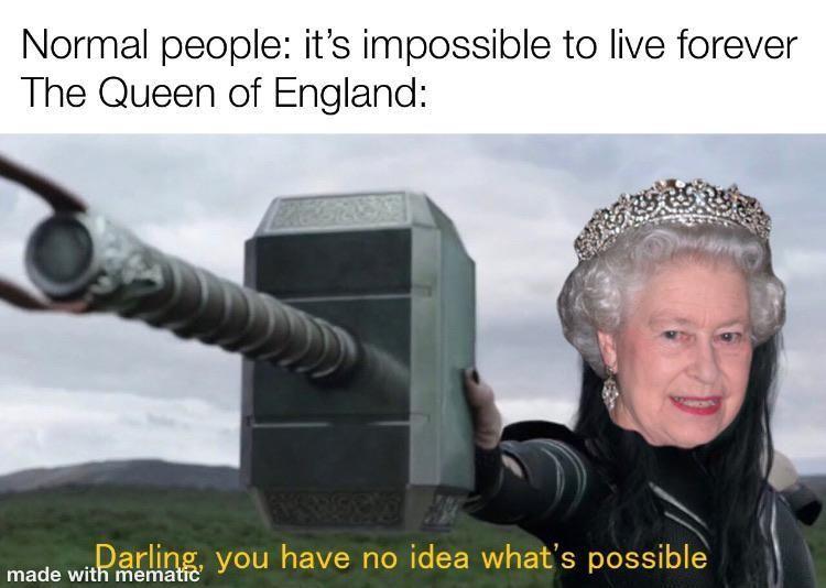 *sips immortaliTEA* | Queen Elizabeth Is Immortal