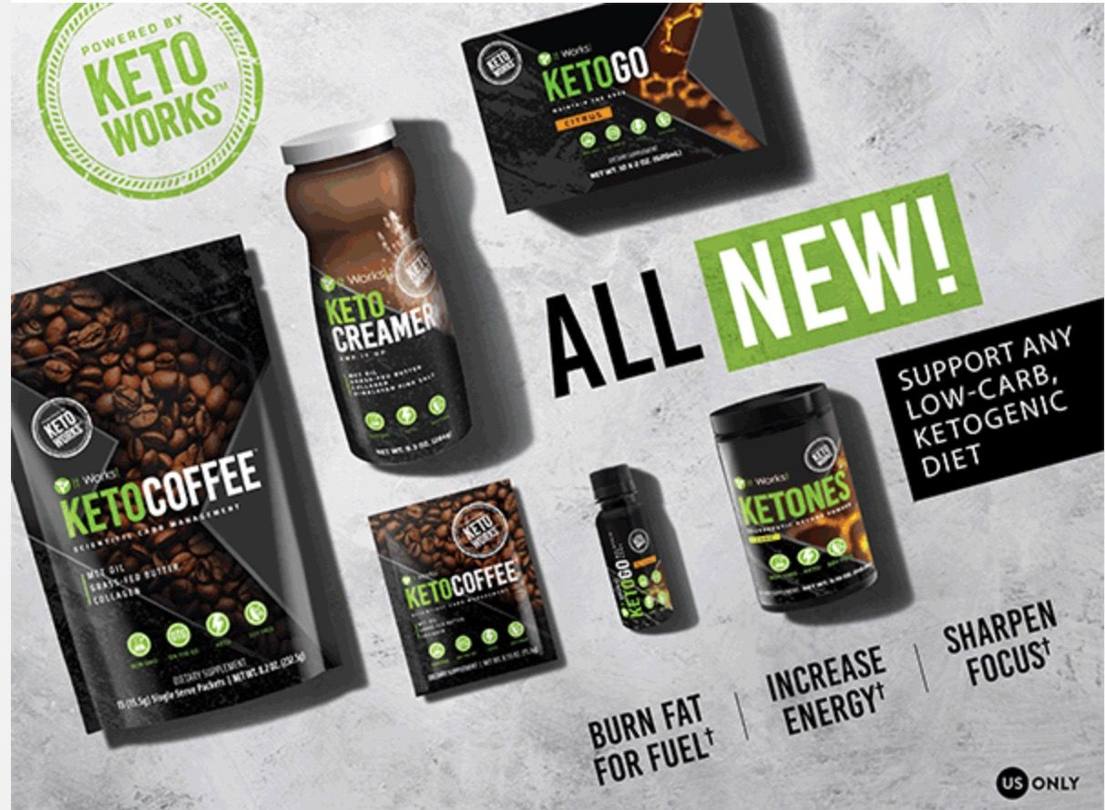 New KETO Line Now Available FitFueledFocused
