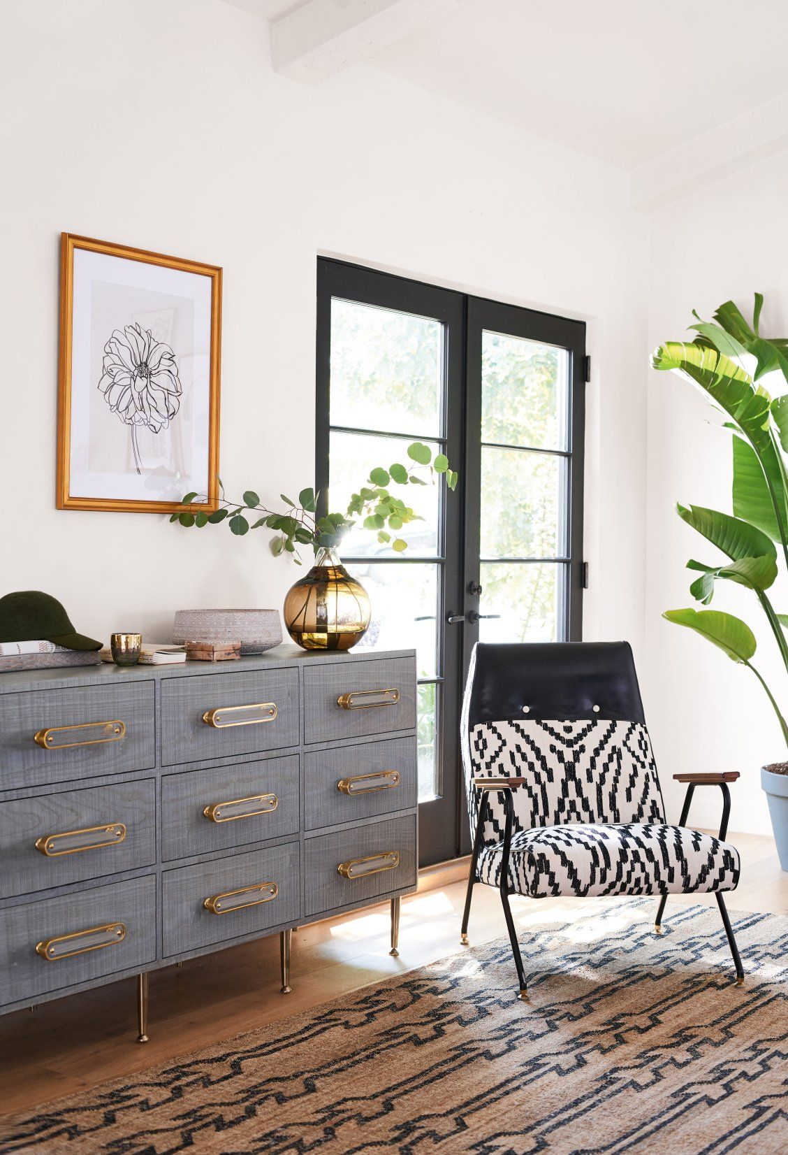 Maura Printed Quentin Chair Anthropologie Furniture Home Home