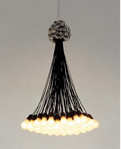 85 lamps chandelier by droog design interior deluxe com for big light fixture