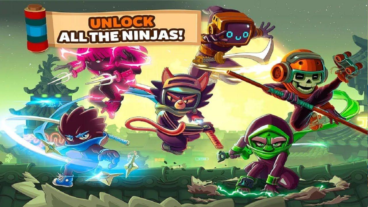 Ninja Dash Run ( Online/Offline)GamePlay Trailer Free