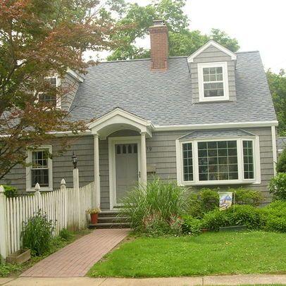 Cape Cod Style Home Design Ideas Pictures Remodel And Decor Front Porch Design Small Front Porches Designs House Front Porch