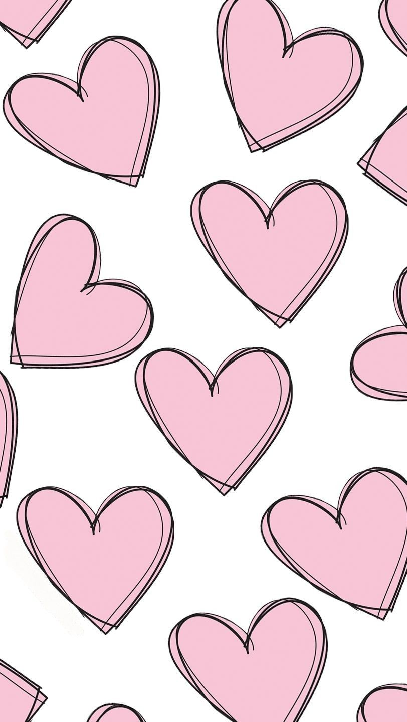 Get The New Heart Patterned Wallpaper Right Now Heart Wallpaper Iphone Wallpaper Valentine Background
