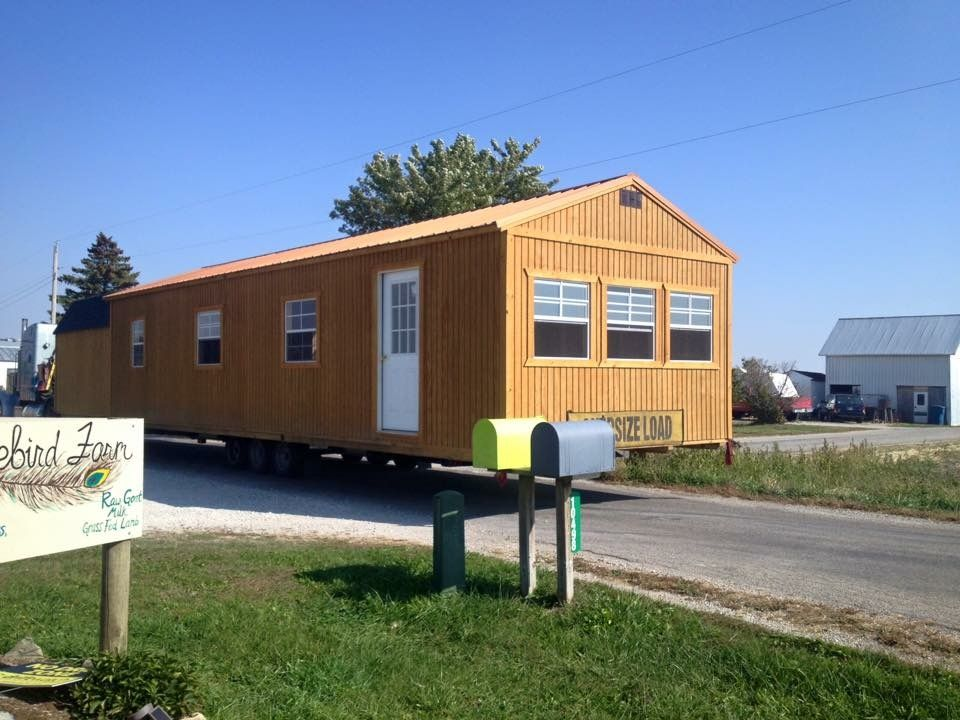 Big Love Little Cabin 14x40 Cabin For Sale In Walton Indiana Tiny House Listings Little Cabin Tiny House Listings New House Plans