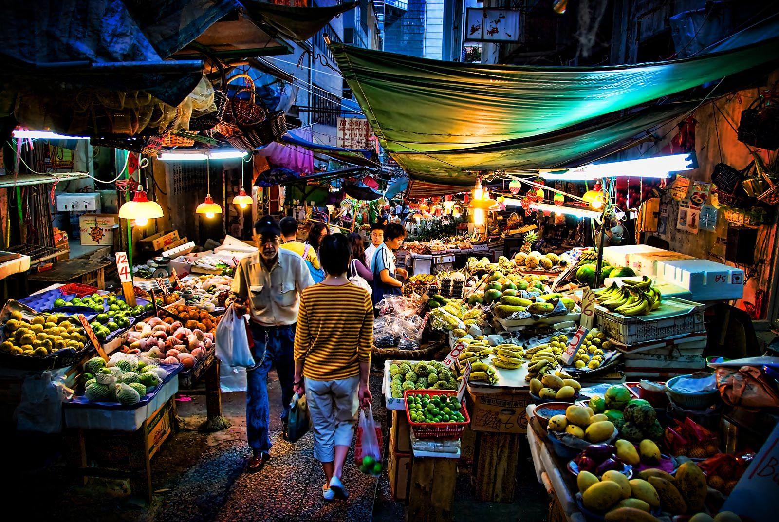 Wet Markets shoot location Hong kong food