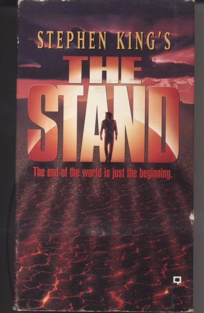 Stephen King The Stand Movie Vhs 1994 2 Tape Set Collectible Stephen King The Stand Movie Stephen King Movies