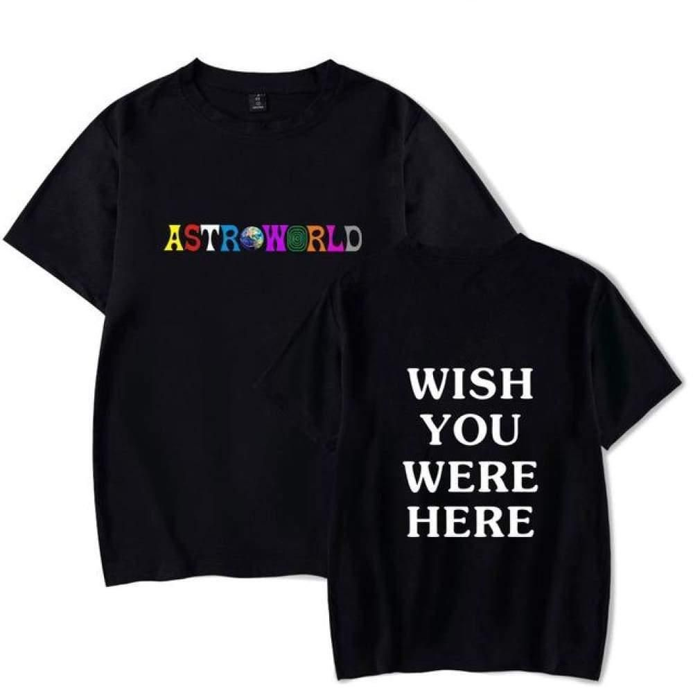 643105eec1d0 Astroworld Logo T-shirt in 2019 | clothes | Shirts, Fashion, Travis ...