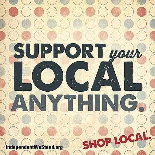 Support local business!  #smallbusiness #localbusiness #shopsmall #shoplocal #eatlocal #arlenescostumes #independentwestand