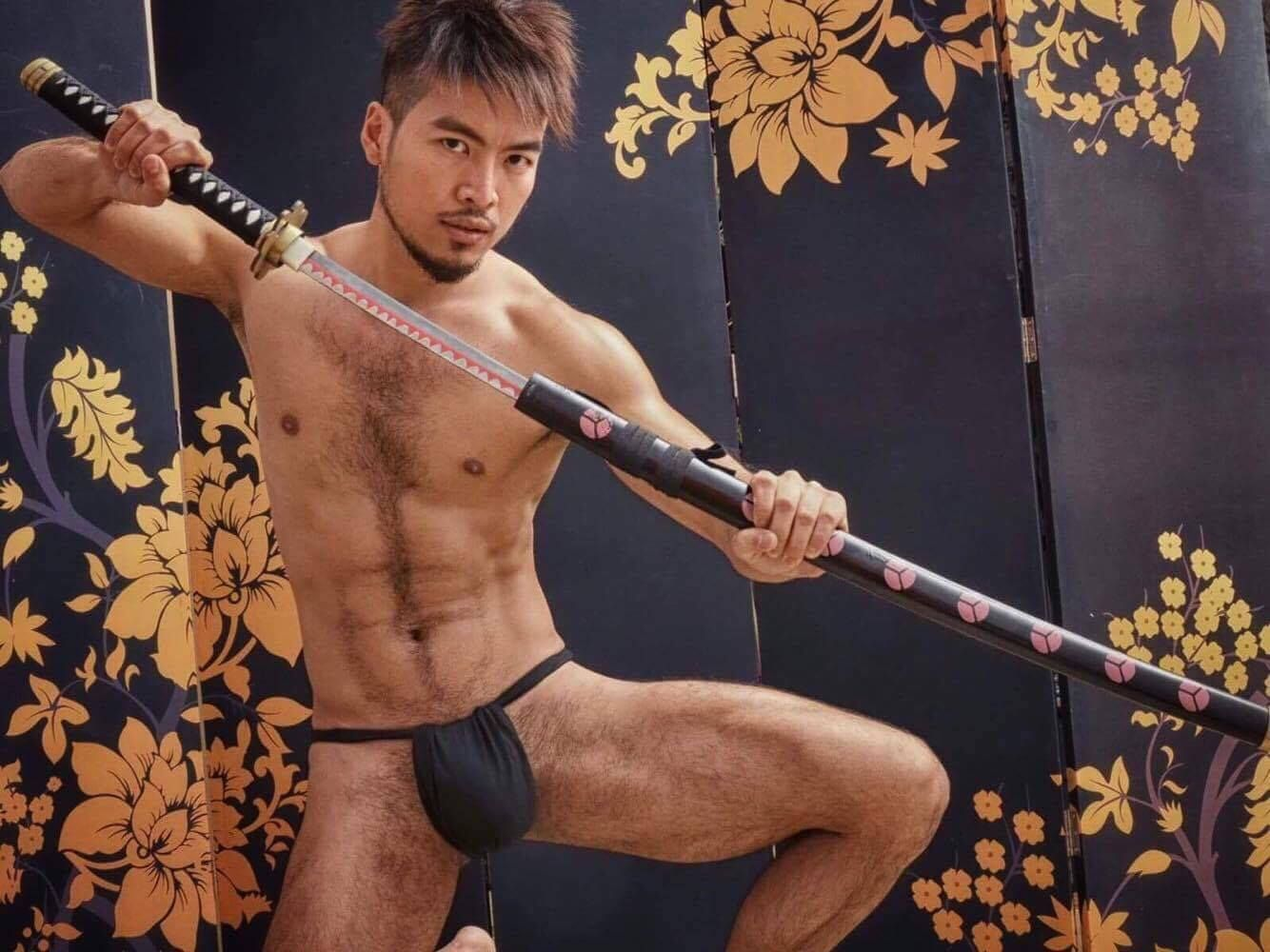 Japanese gay hairy guys photo