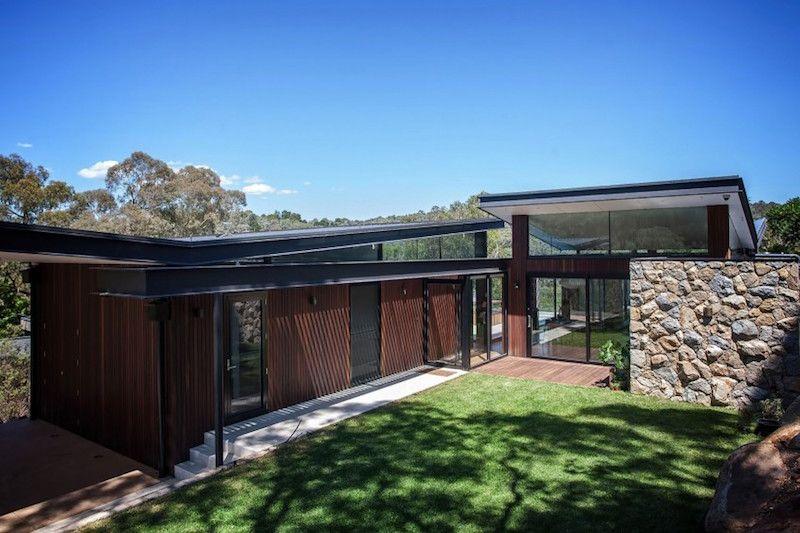 Une Belle Maison De Melbourne Qui Se Connecte Avec Ses Extérieurs