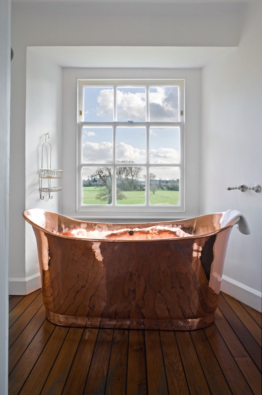 Luxury Bathrooms Rose Gold Is Design Trend Bathroom Decor Luxury Bathroom Decor Gold Bathroom Decor