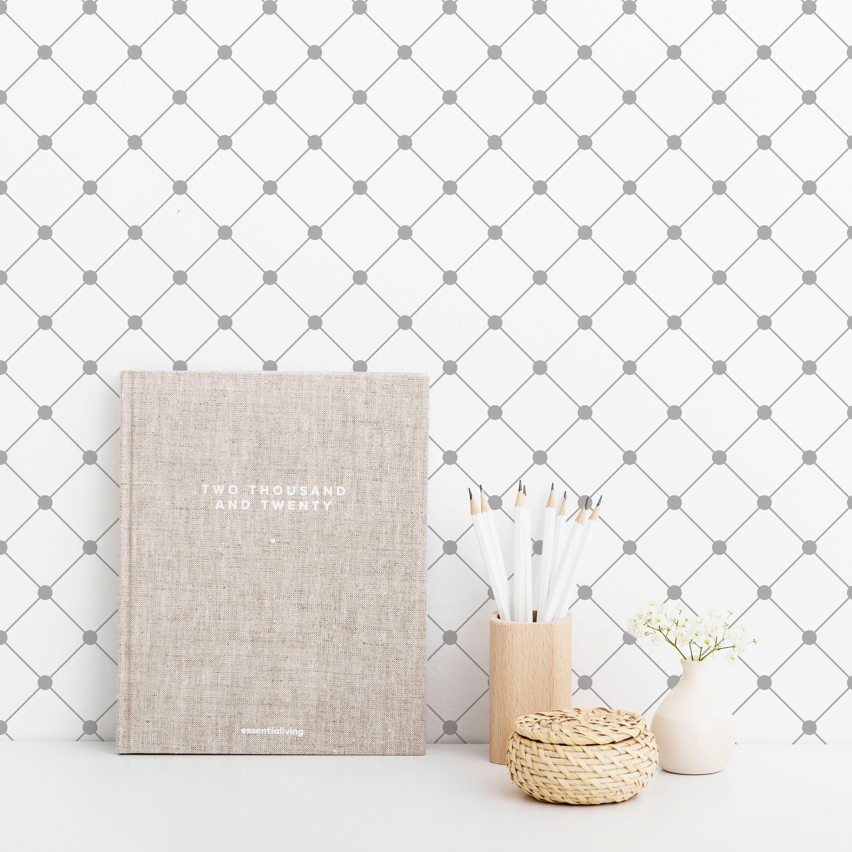 Grey And White Self Adhesive Wallpaper Grey And White Etsy In 2021 Self Adhesive Wallpaper Geometric Removable Wallpaper Peel And Stick Wallpaper