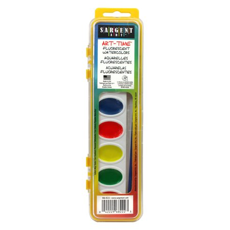 Arts Crafts Sewing Watercolor Pans Sargent Art Watercolor