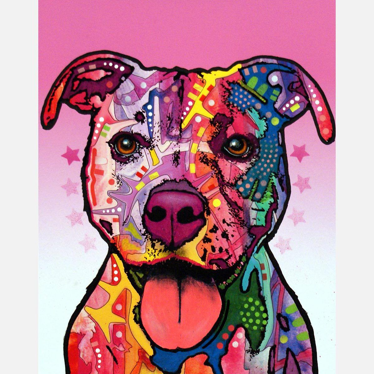 Cherish The Pit Bull by Dean Russo
