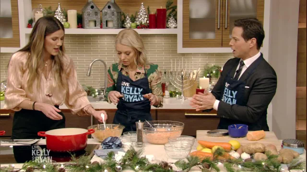 Eden grinshpans sweet potato latkes live with kelly and