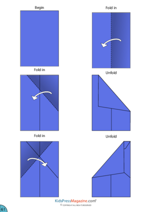 Paper Airplanes Archives Kidspressmagazine Com Paper Airplanes Instructions Origami Easy Origami Airplane