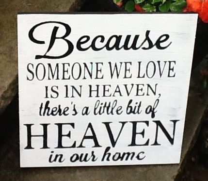 Heaven Remembrance Sign, Wedding Signs, Reception Signs - 11