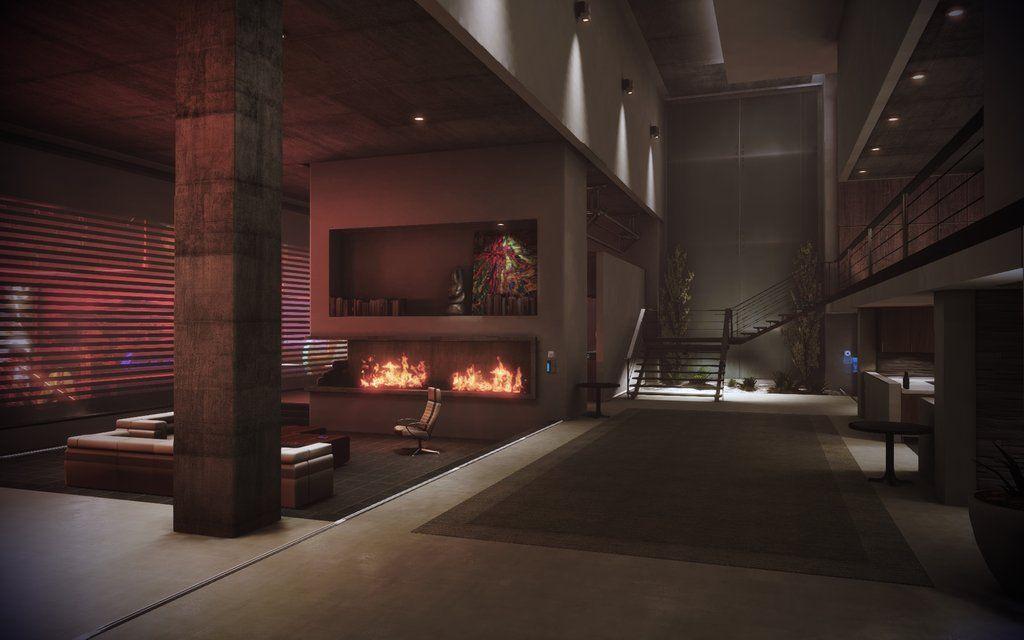 Mass Effect 3 Citadel Apartment Entrance