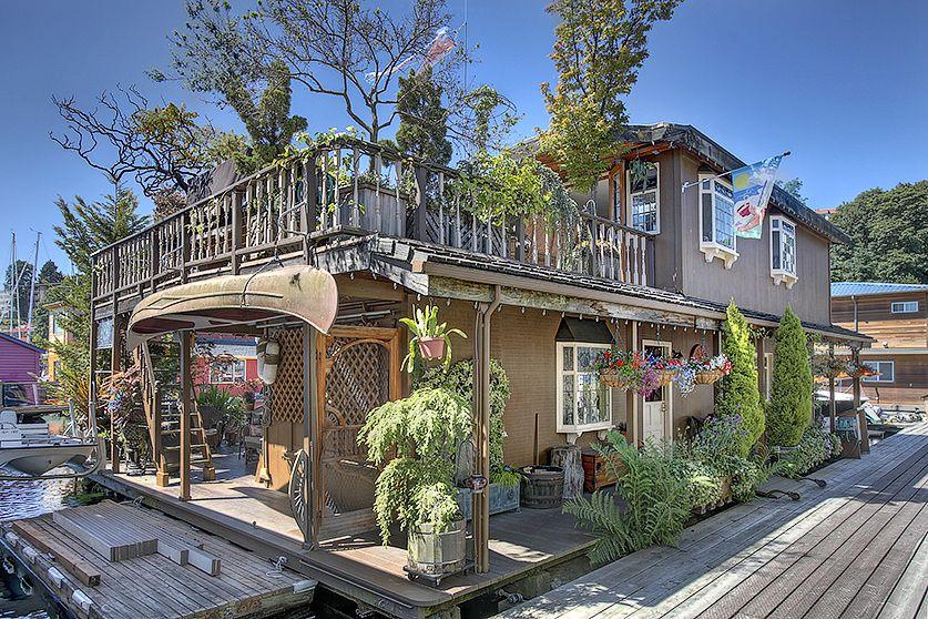 Seattle Houseboats плавучие дома красивые дома дом