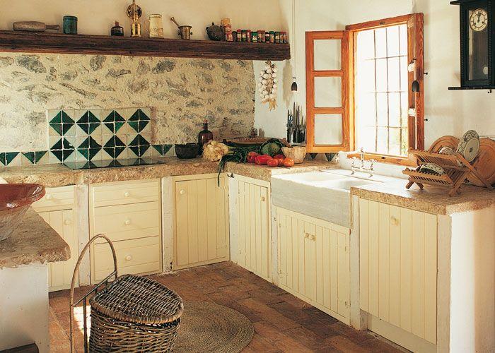 Casa y campo campanas de obra cocinas pinterest - Cocinas rusticas de campo ...