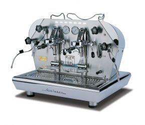 """Reneka Atalante"" espresso machine reminds me of the movie ""Hugo."""
