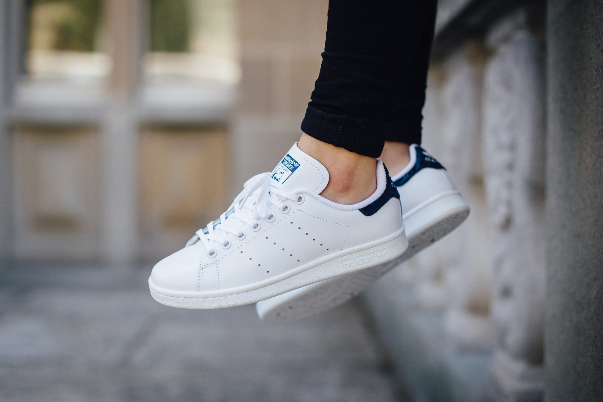 wholesale sales 2018 sneakers discount shop Another Pristine Variation: adidas Originals Stan Smith - White ...